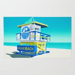 Miami Beach Hut Rug