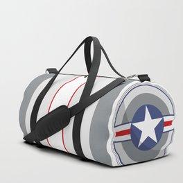 A Fictitious Shield Duffle Bag