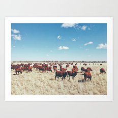 Home on the range Art Print