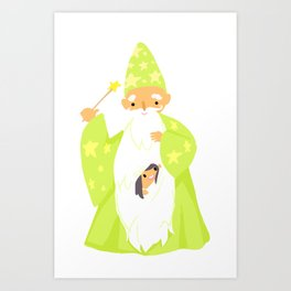 Wizards Are Your BFFs Art Print