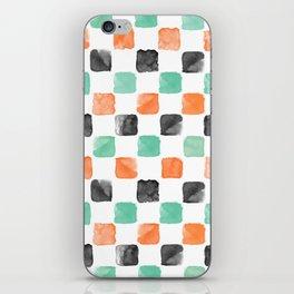 Watercoloured Chess iPhone Skin