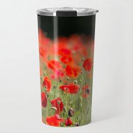 Poppy Meadow Travel Mug