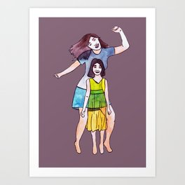 Niña Art Print