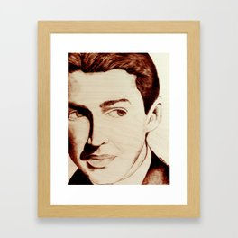 "James ""Jimmy"" Stewart Framed Art Print"