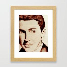 "James ""Jimmy"" Stewart Framed Art Print"