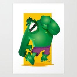 Inclredible Vector! Art Print