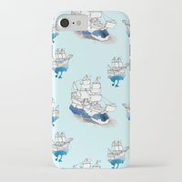 ships iPhone & iPod Cases featuring Ships Pattern by Brooke Weeber
