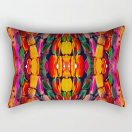For the World Sugarcane - Alicia Jones - Pattern Rectangular Pillow