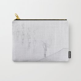 Whiteout I Carry-All Pouch