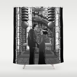 The Monster's bride. Shower Curtain