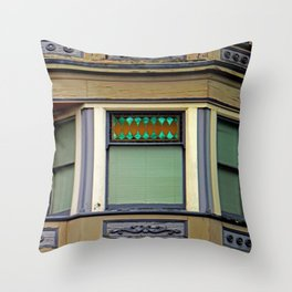 A Bit Off Color Throw Pillow
