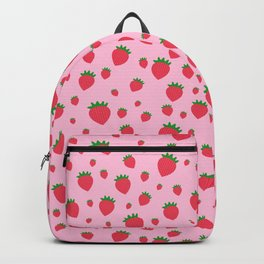 Whimsical strawberry pattern Backpack