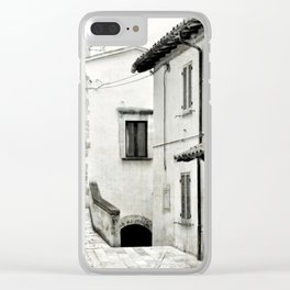Italian street view 03 Clear iPhone Case