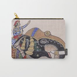 Shah & Elephant Carry-All Pouch