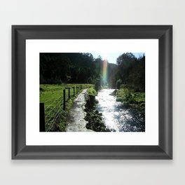 Pot of Gold Framed Art Print