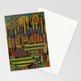 Ghe Ngo [Khmer Boats] Stationery Cards
