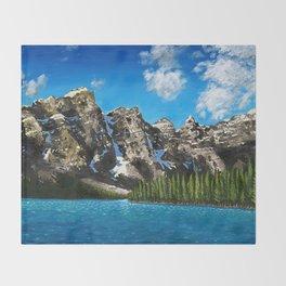 Canadian Vista  Throw Blanket