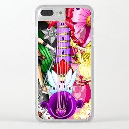 Sailor Mew Guitar #69 - Sailor Pluto & Mew Berry Clear iPhone Case