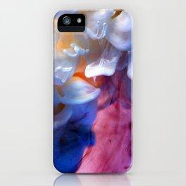 Milk petals iPhone Case