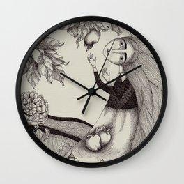 The Golden Apples (2) Wall Clock