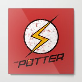 The Potter Metal Print
