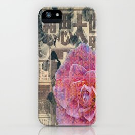 Camellia Comics iPhone Case