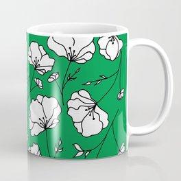 Green Spring Florals Coffee Mug