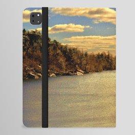 Lake Minnewaska in Autumn iPad Folio Case