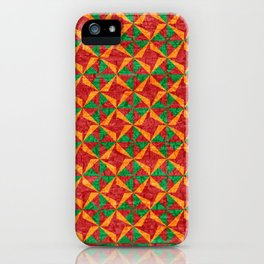 Lithuanian pattern iPhone Case