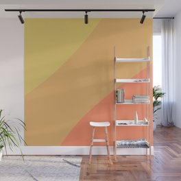 Heat Wave Color Block Wall Mural