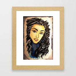 Star in the Eye Framed Art Print