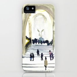Musee du Louvre - Winged Victory iPhone Case