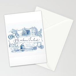 Mackinac Island Montage Stationery Cards
