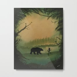 The Jungle Book by Rudyard Kipling Metal Print