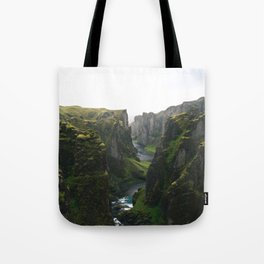 Iceland Green Nature Tote Bag