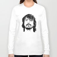 dave grohl Long Sleeve T-shirts featuring Dave Grohl - Legend by Matty723