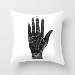 Palmistry no.1 Throw Pillow