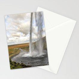Seljalandsfoss in Iceland Stationery Cards