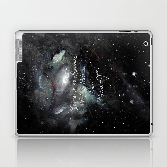 there is no reason not to follow your heart Laptop & iPad Skin