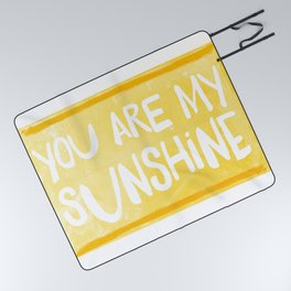 My Sunshine Love Picnic Blanket