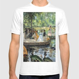 Pierre Auguste Renoir La Grenouillere T-shirt