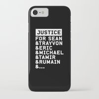 justice league iPhone & iPod Cases featuring Justice by YEAH PRETTY MUCH