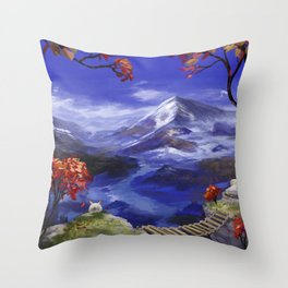 Mountains 're Nice Throw Pillow