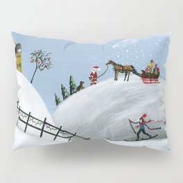 Hilly Holiday Pillow Sham