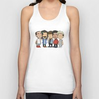 1d Tank Tops featuring Schulz 1D by Ashley R. Guillory