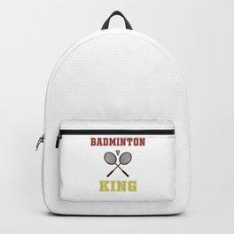 Badminton King Backpack
