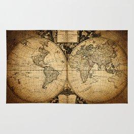 World Map 1752 Rug