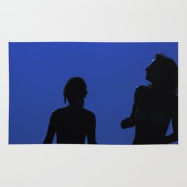 Two Girls In the Sun Rug