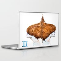 gemini Laptop & iPad Skins featuring Gemini by Aloke Design