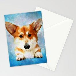 Welsh Corgi Stationery Cards